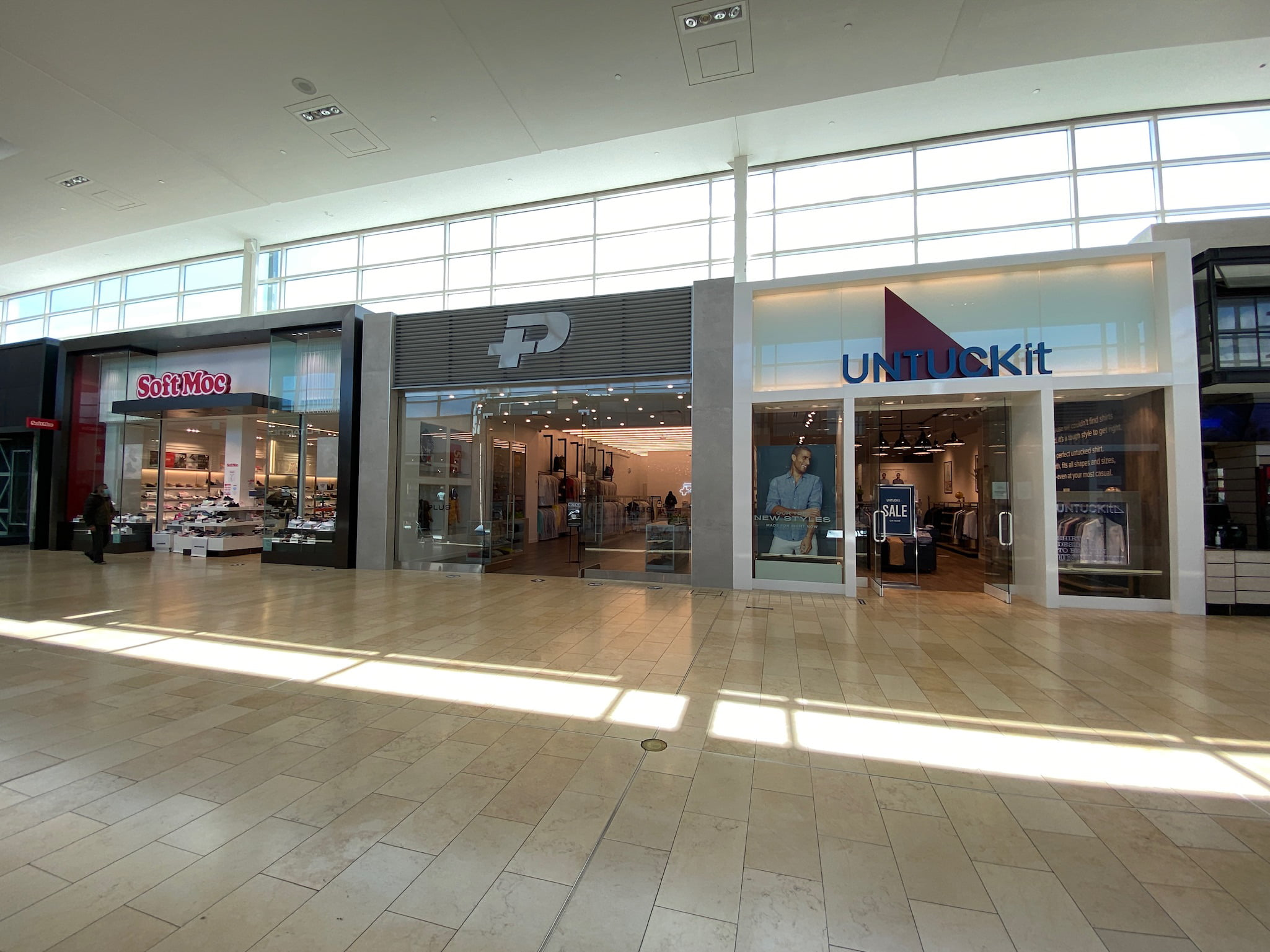 Plus and UnTuckIt at Yorkdale