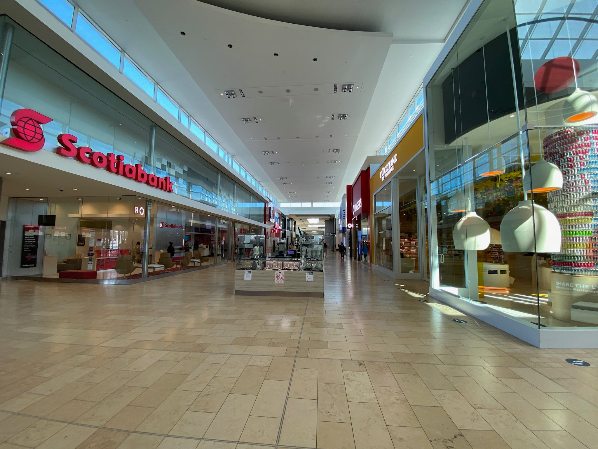 Scotiabank and L'Occtaine du Provence at Yorkdale
