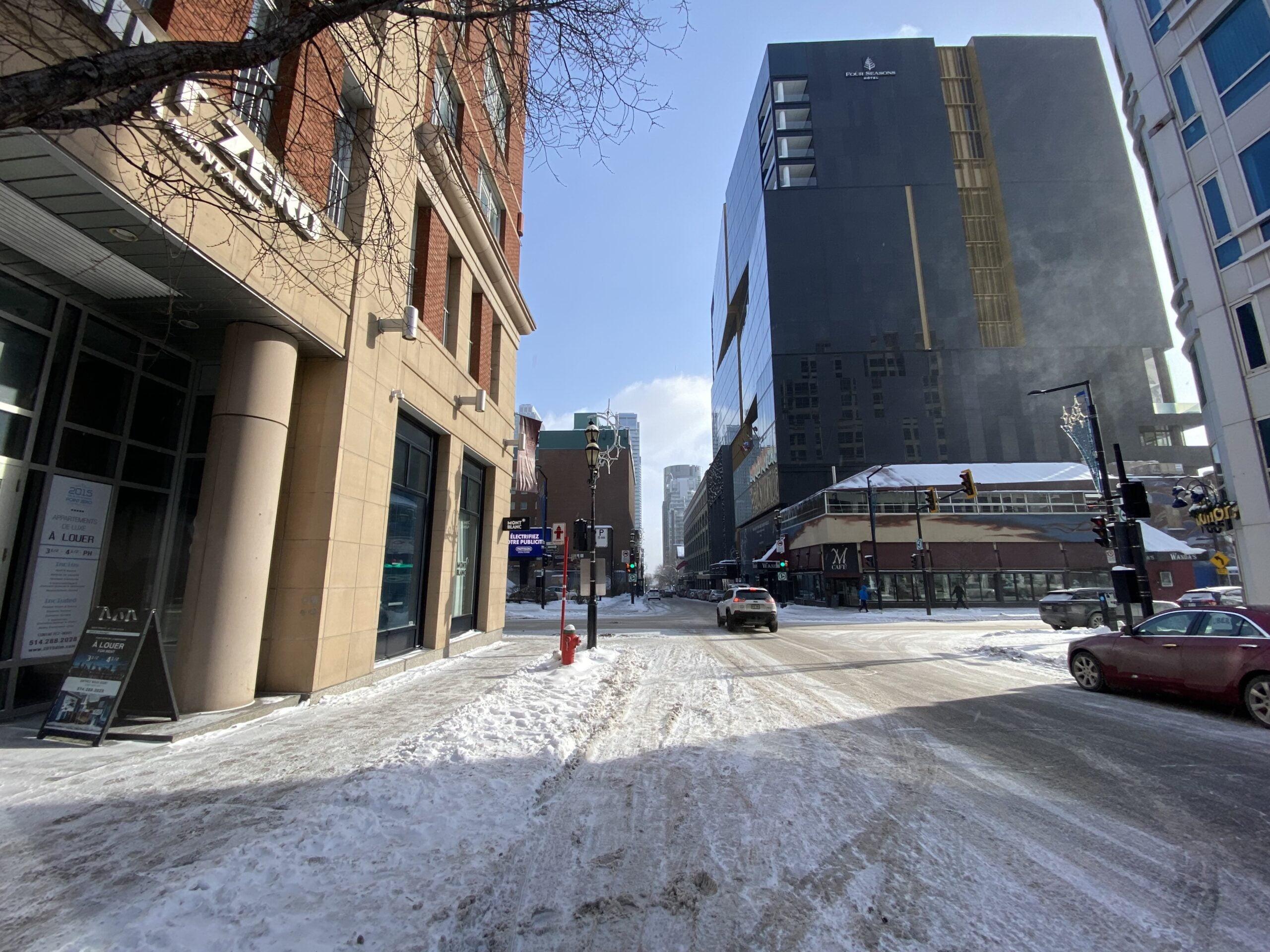 Point Zero on Rue De La Montagne in Montreal