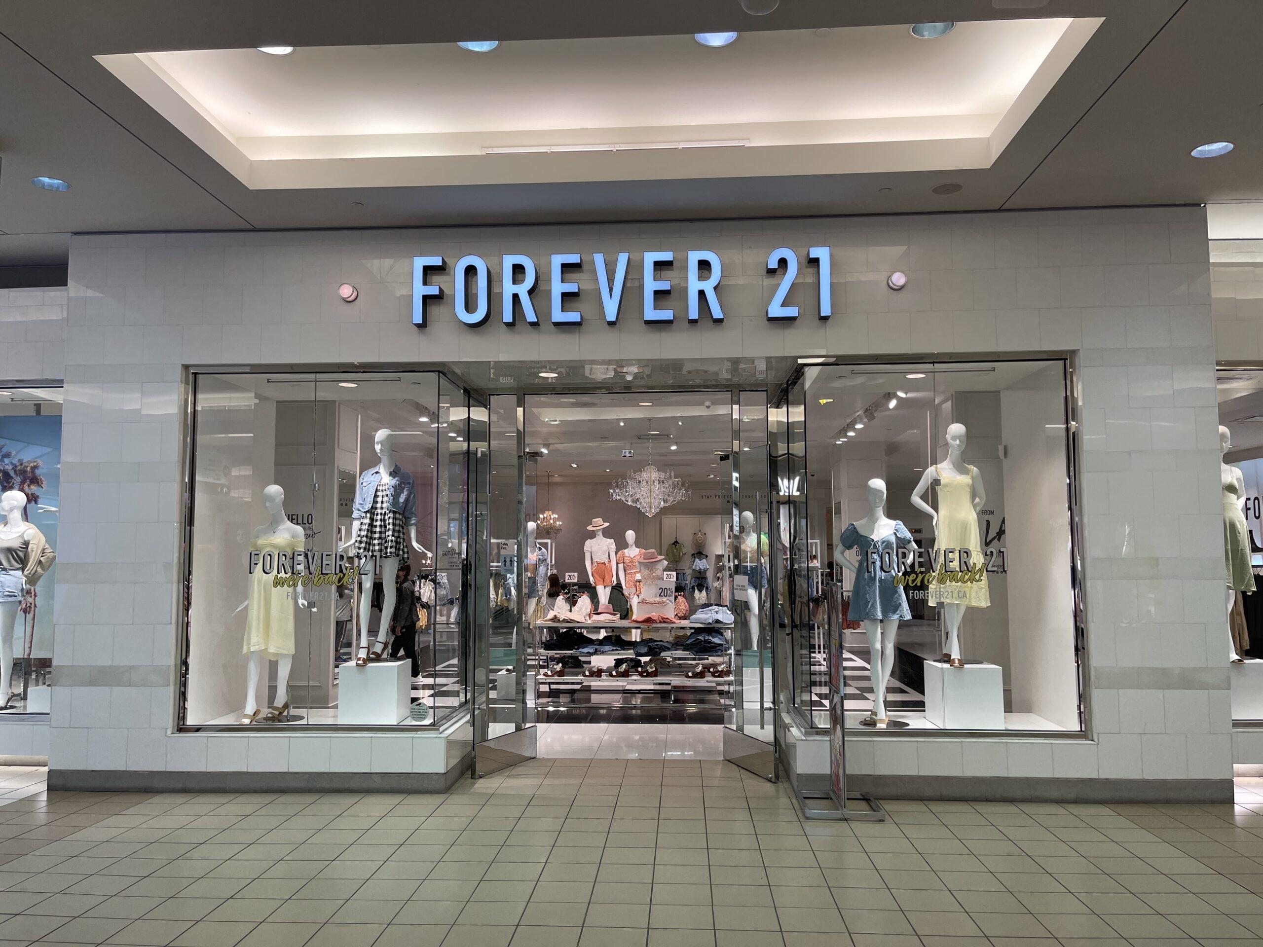 Forever 21 at Metropolis at Metrotown (July 2021)
