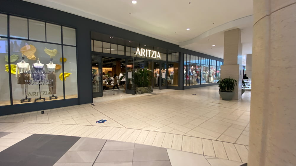 Aritzia on the Lower Level at CF Chinook Centre