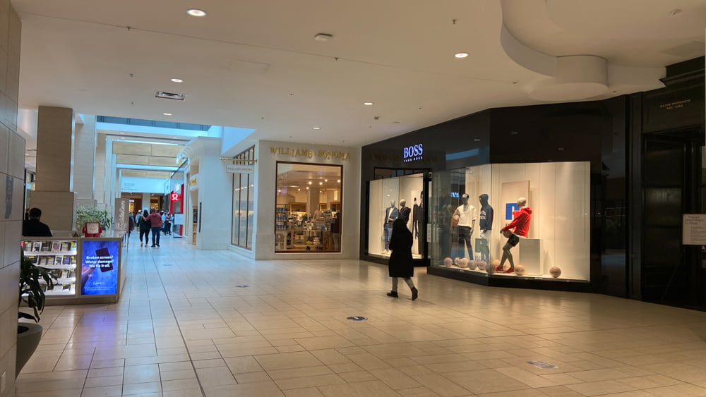 HUGO BOSS and Williams and Sonoma on the Lower Level at CF Chinook Centre