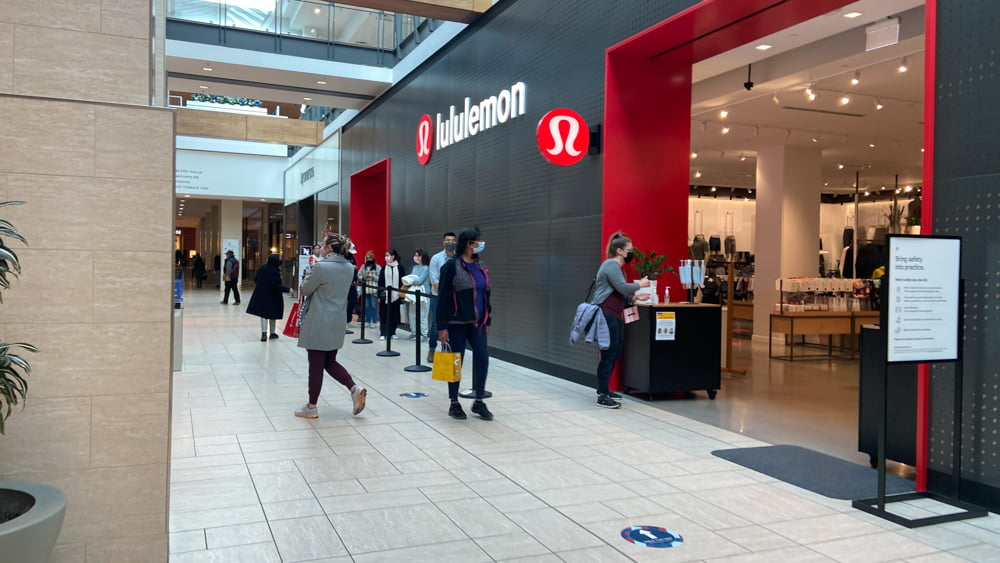 Lululemon on the Lower Level at CF Chinook Centre