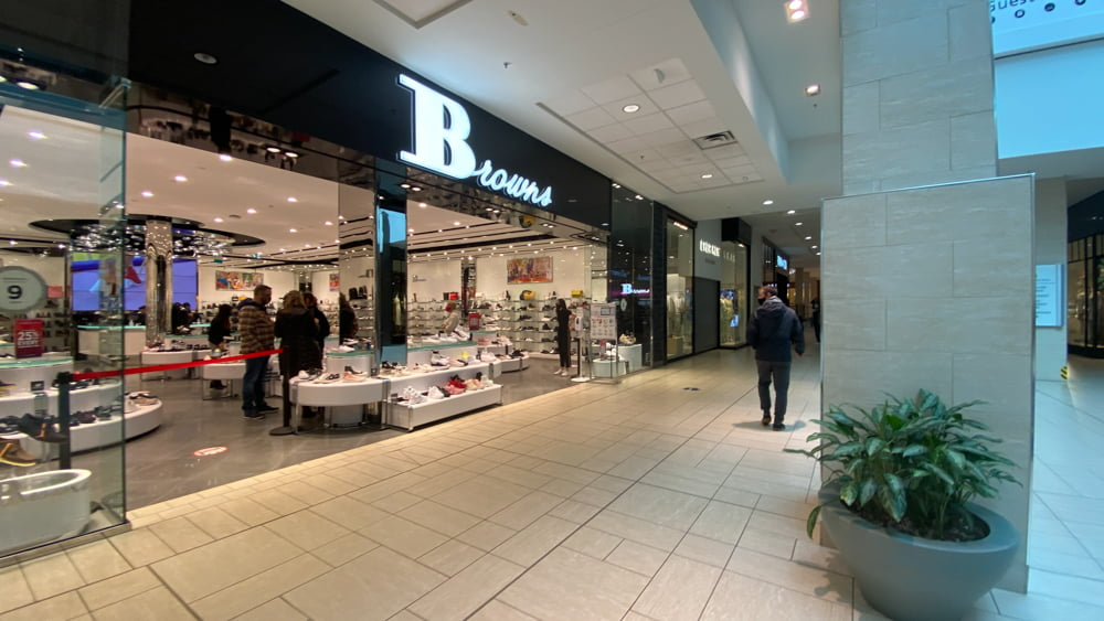 Browns Shoes on the Lower Level at CF Chinook Centre