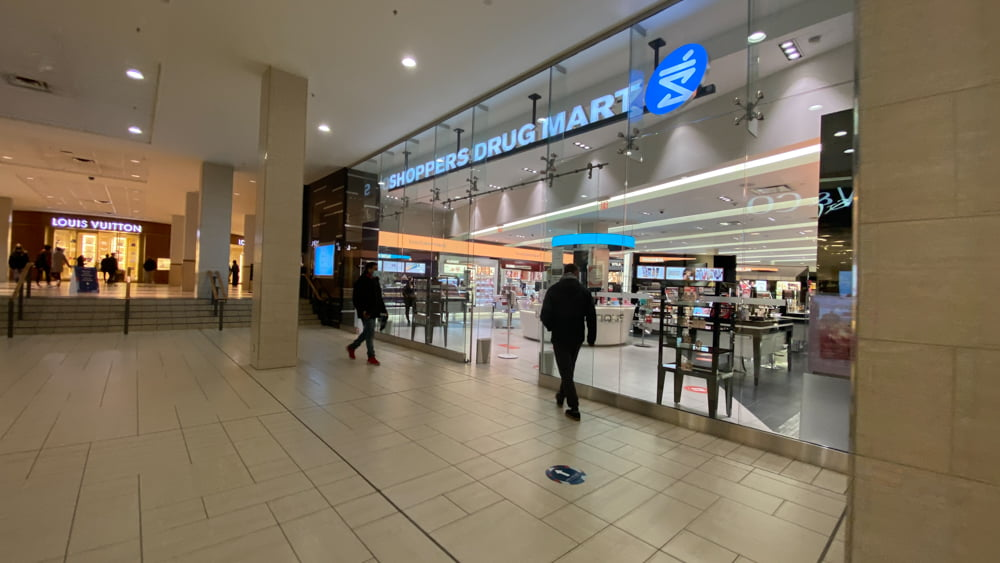 Shoppers Drug Mart on the Lower Level at CF Chinook Centre