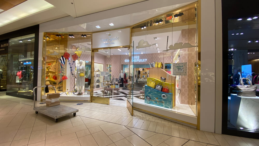 Kate Spade on lower level of CF Chinook Centre