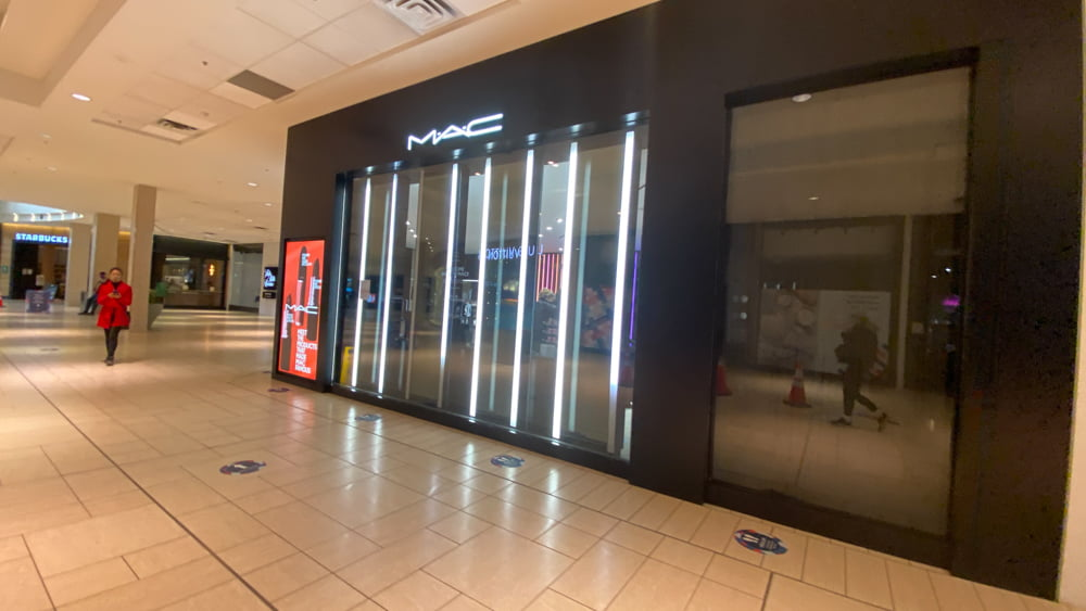 MAC Cosmetics on the lower level of CF Chinook Centre