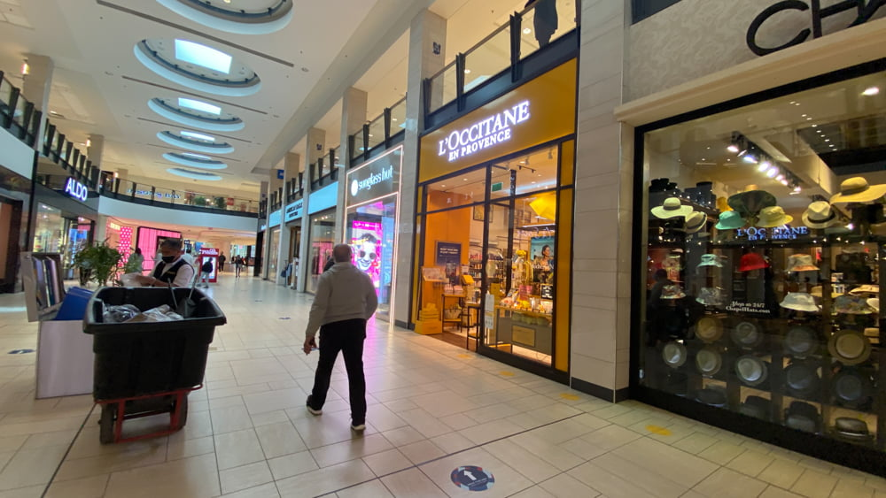 L'Occitane on the Lower Level at CF Chinook Centre