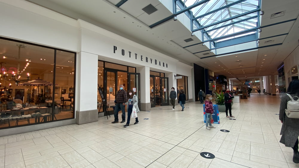 Pottery Barn on CF Chinook Centre's lower level
