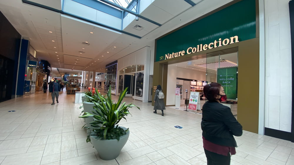Nature Collection on CF Chinook Centre's lower level