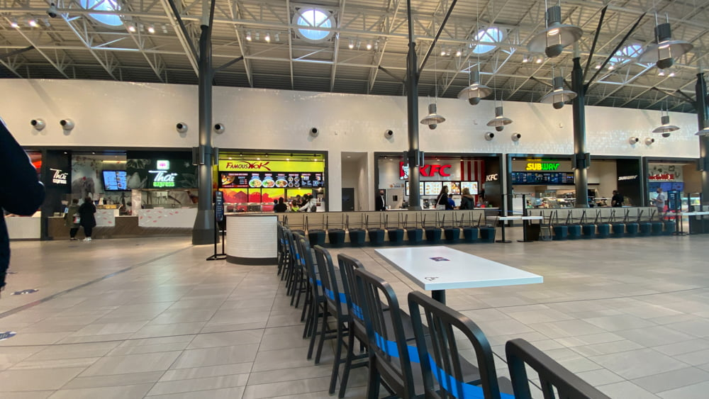 Cafeteria at CF Chinook Centre.