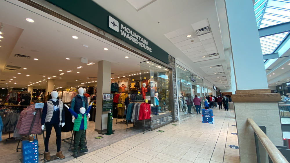 Mountain Warehouse in Central Zone at CF Chinook Centre