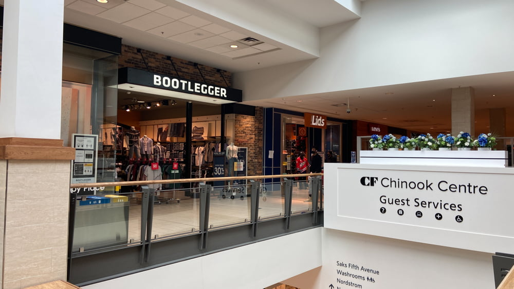 Bootlegger in Central Zone at CF Chinook Centre
