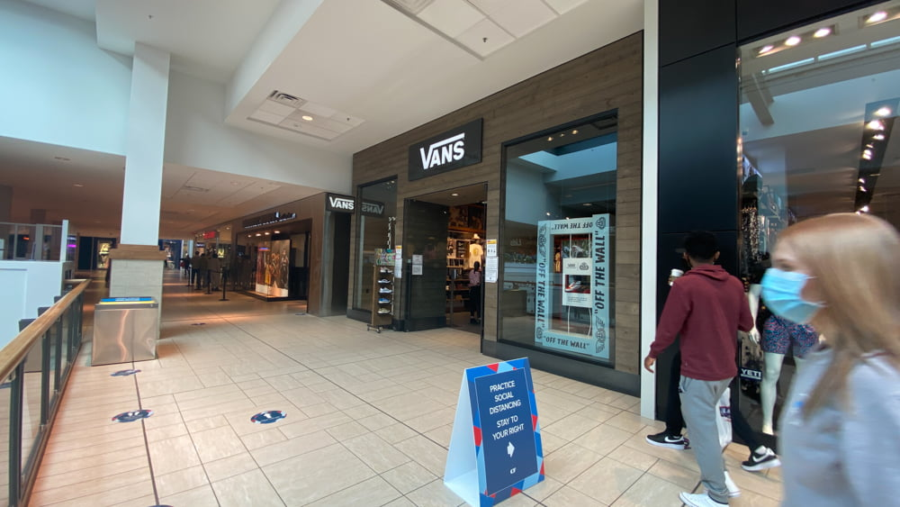 Vans in Central Zone at CF Chinook Centre