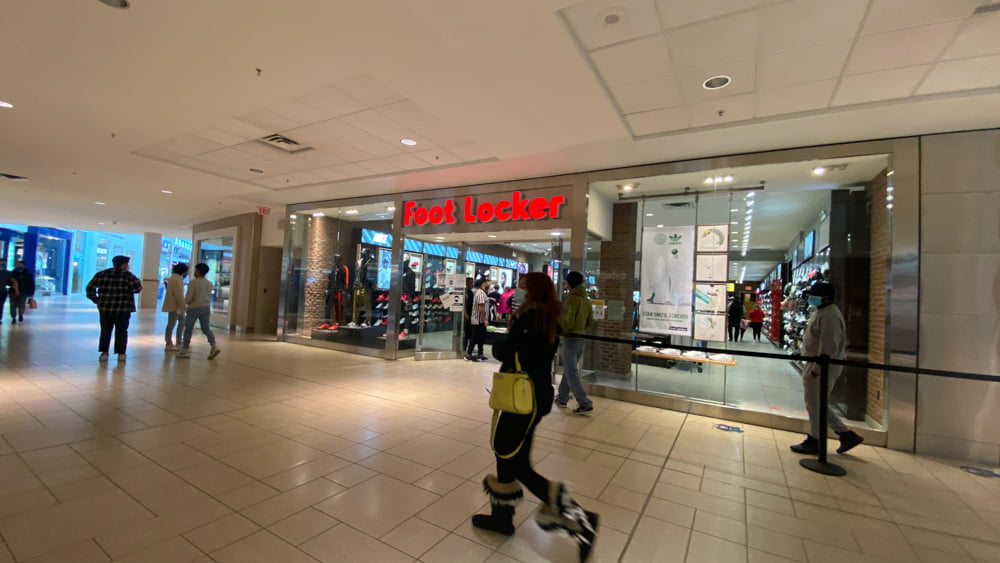 Foot Locker in Central Zone at CF Chinook Centre