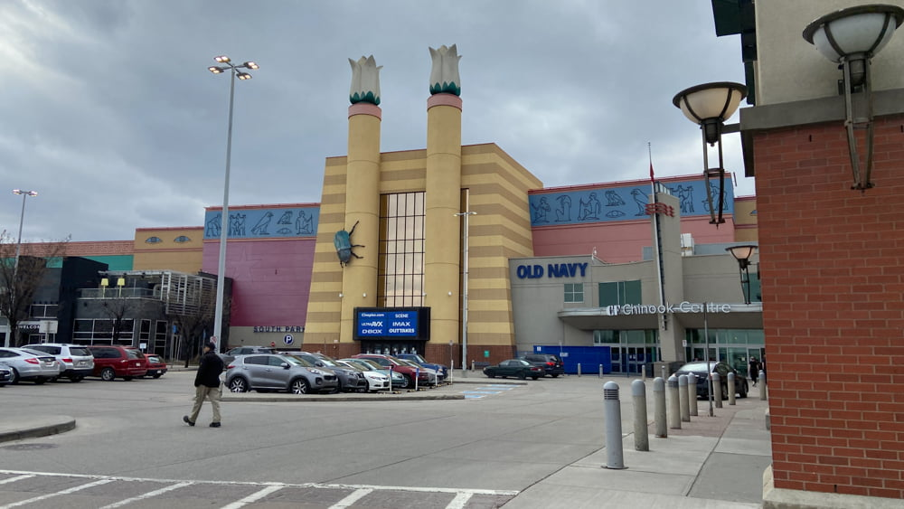 South Building Extension hosting Cineplex and Old Navy at CF Chinook Centre