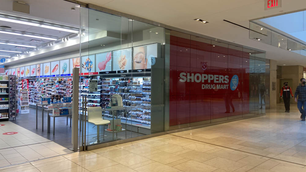 "Shoppers Drug Mart at ""The Core"" in Calgary"
