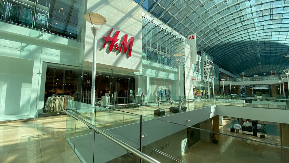 "H&M at ""The Core"" in Calgary"