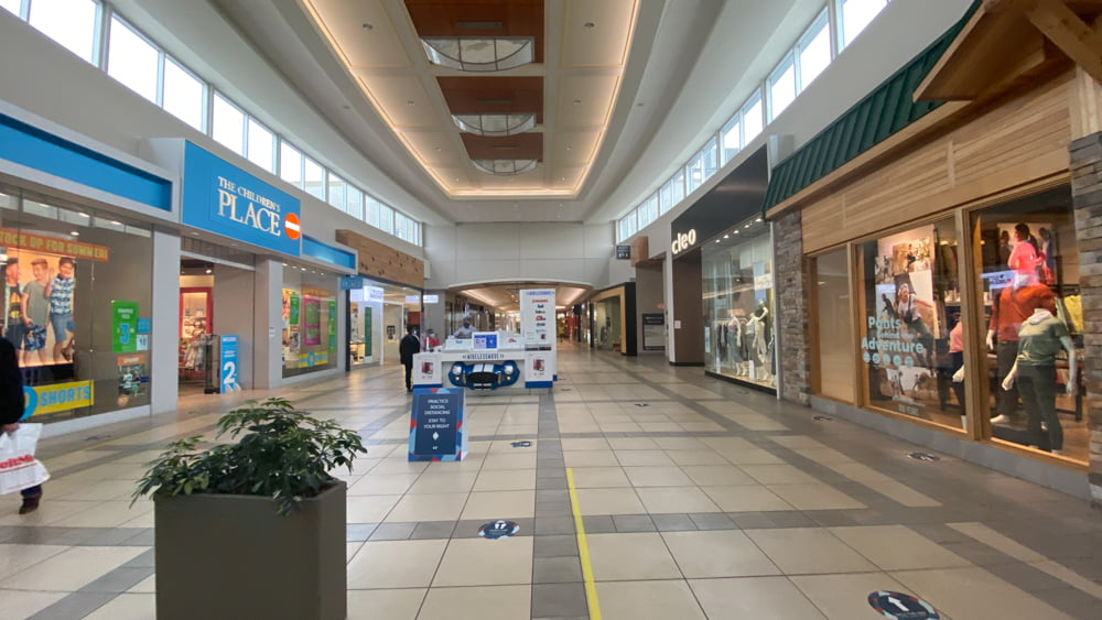 Mall Corridor including Cleo and The Children's Place at CF Market Mall