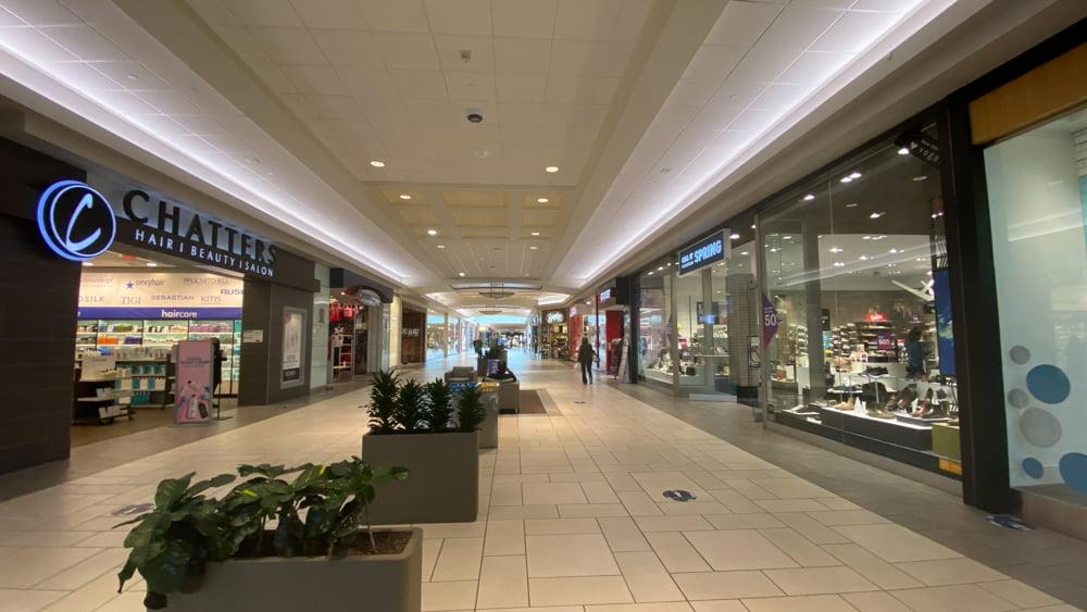 Mall Corridor at CF Market Mall