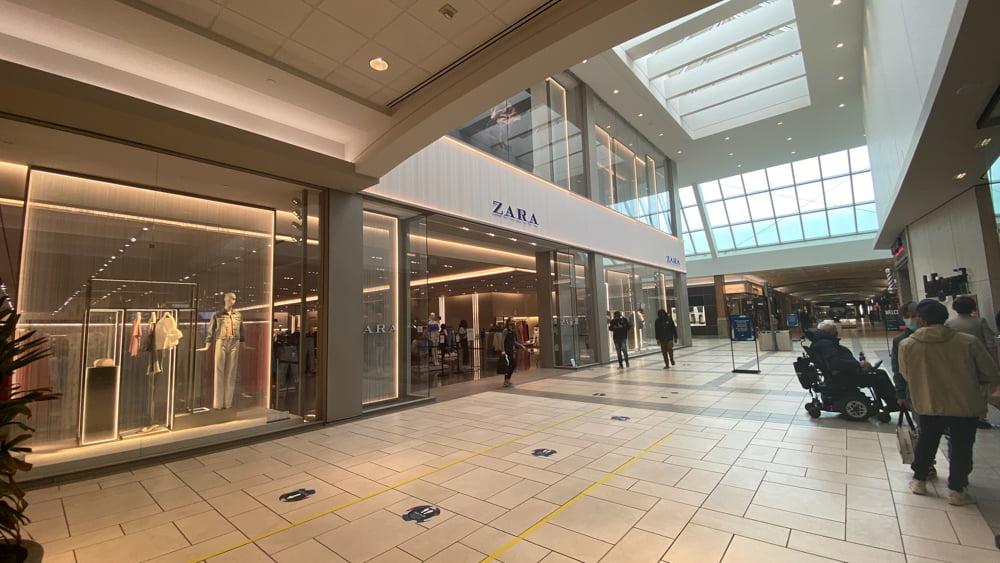 Zara at CF Market Mall
