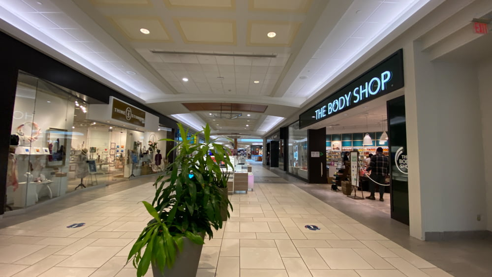 Stokes and The Body Shop at CF Market Mall
