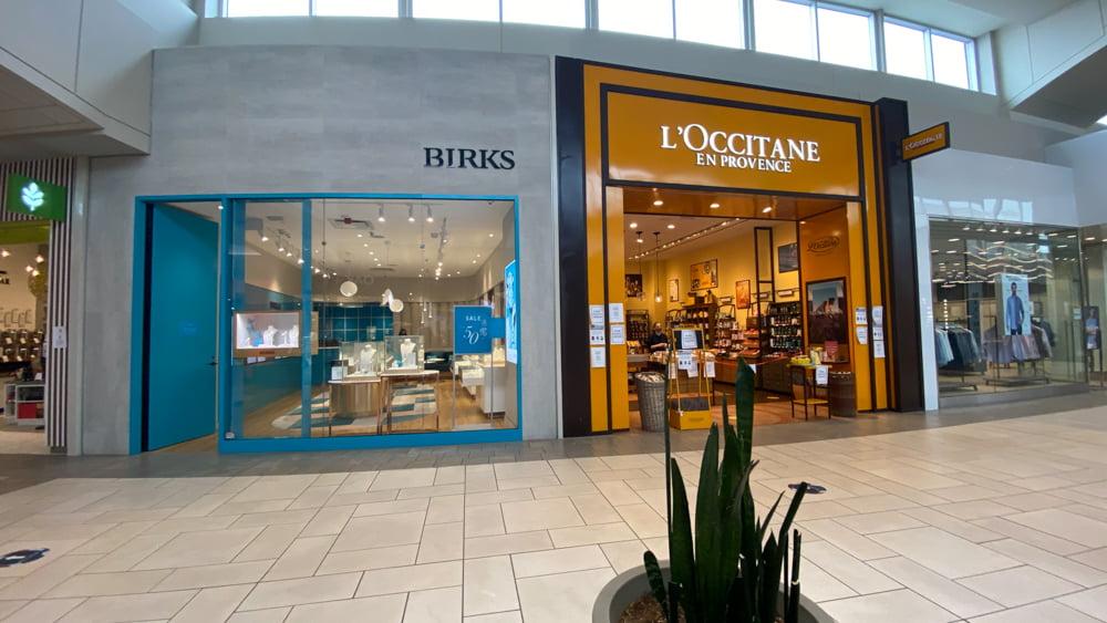 Birks and L'Occitane at CF Market Mall
