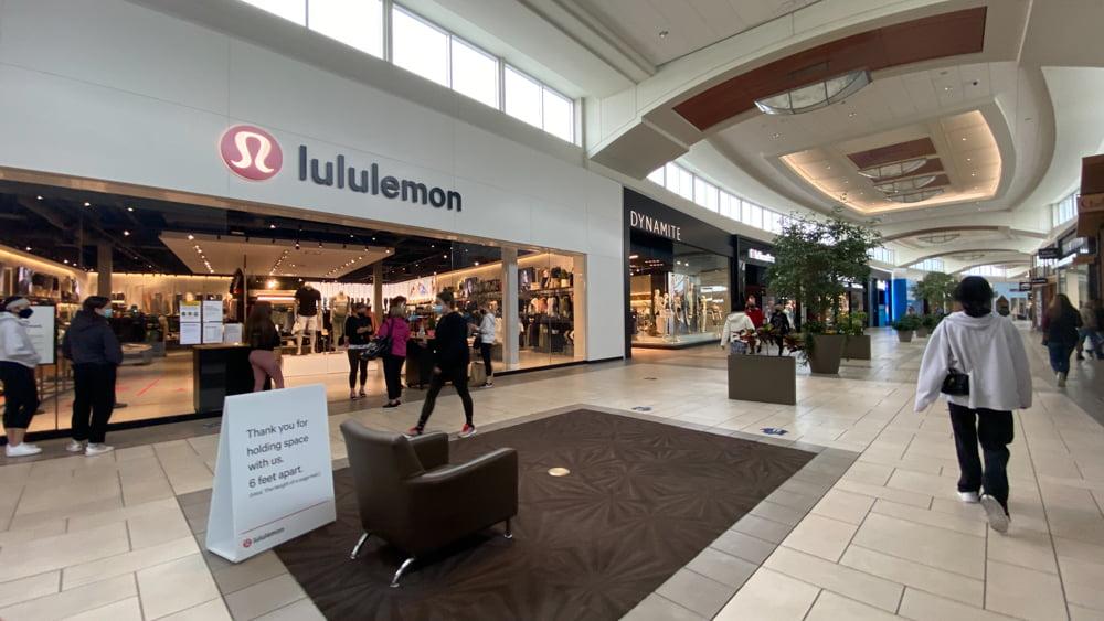 Lululemon at CF Market Mall