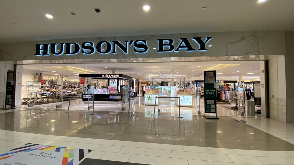 Hudson's Bay at SouthCentre Mall in Calgary