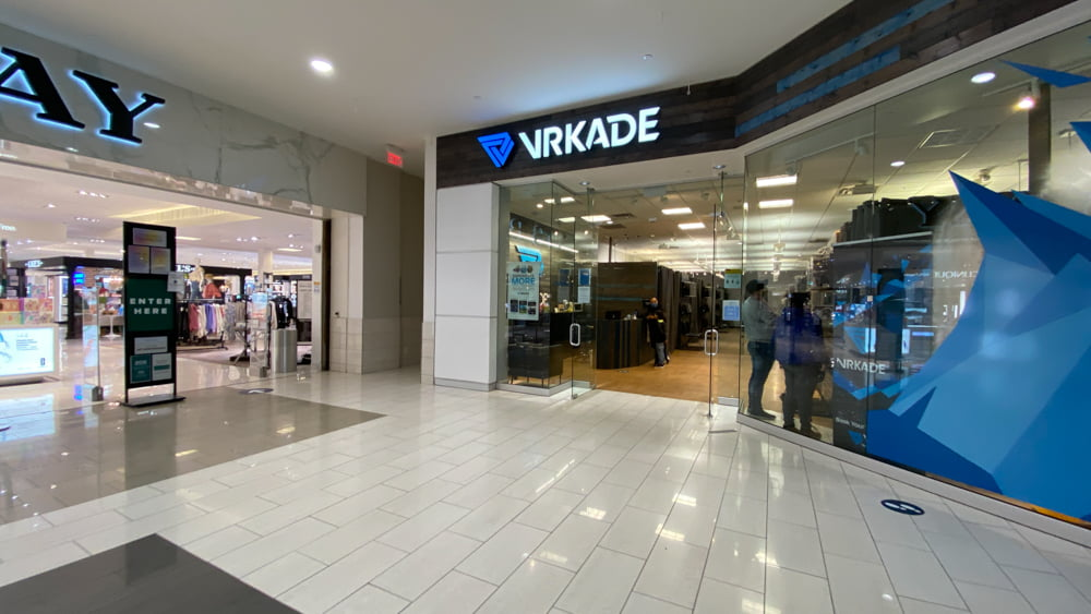 VRKADE at SouthCentre in Calgary