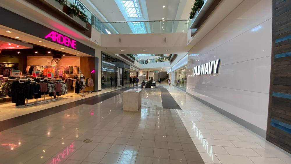 Ardene and Old Navy at SouthCentre Mall in Calgary