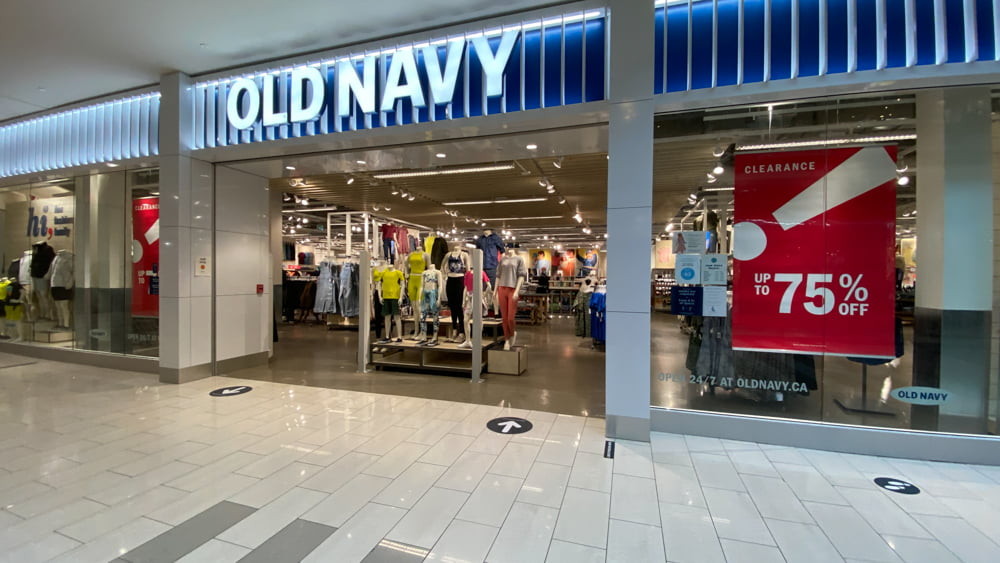 Old Navy at SouthCentre Mall in Calgary