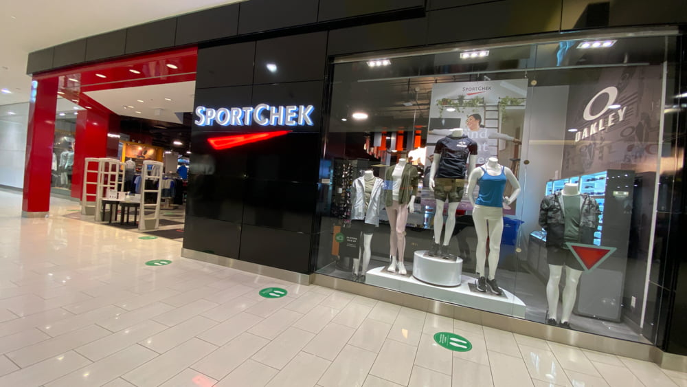 SportChek at SouthCentre Mall in Calgary