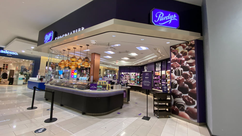 Purdy's Chocolate at SouthCentre Mall in Calgary