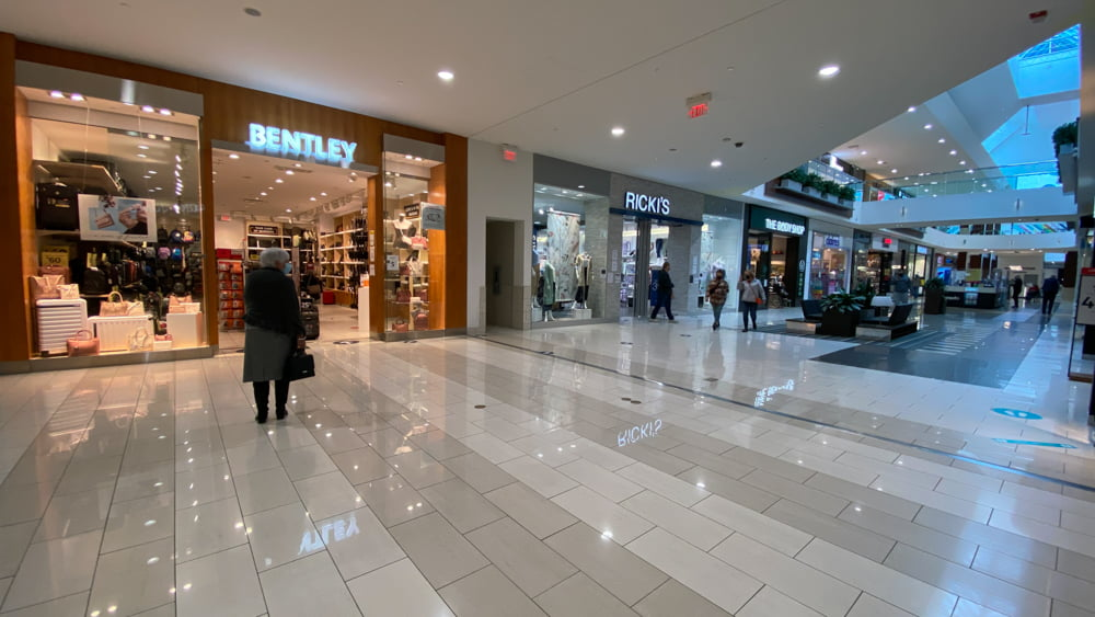 Bentley at SouthCentre Mall in Calgary