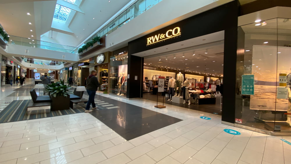 RW&Co. at SouthCentre Mall in Calgary