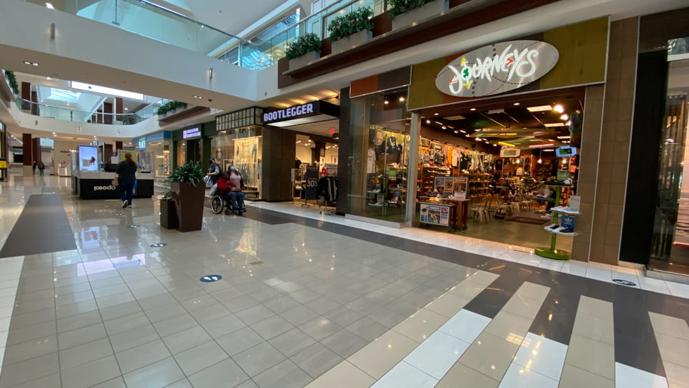 Journeys at SouthCentre Mall in Calgary