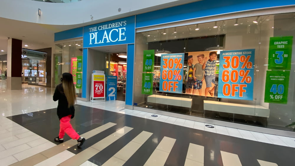 The Children's Place at SouthCentre Mall in Calgary