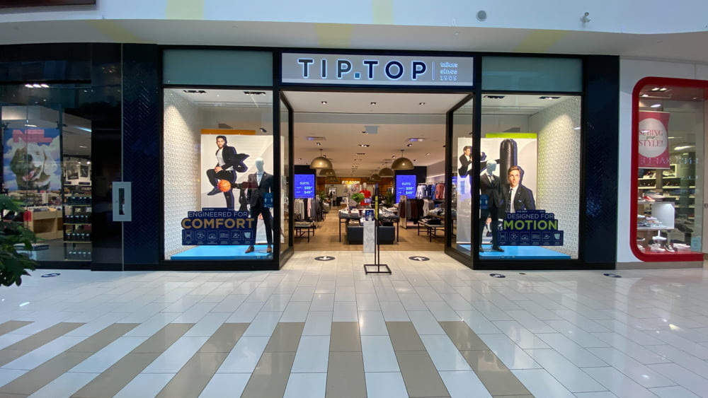 Tip Top at SouthCentre Mall in Calgary