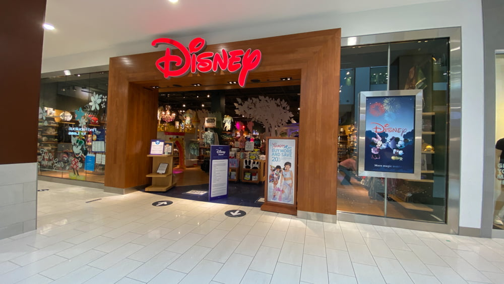 Disney Store at SouthCentre Mall in Calgary.