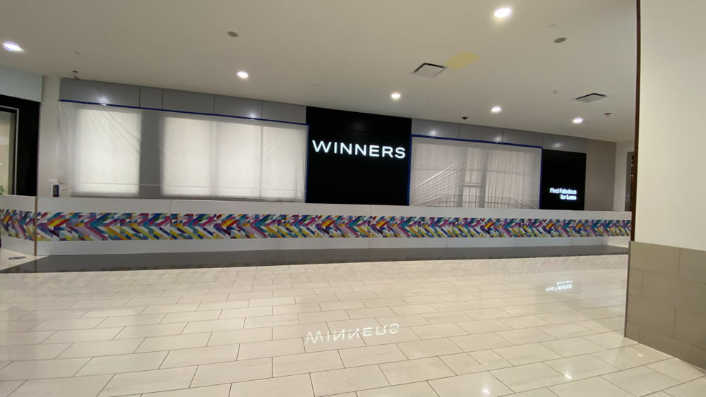 "Winners ""Coming Soon"" to SouthCentre Mall in Calgary"