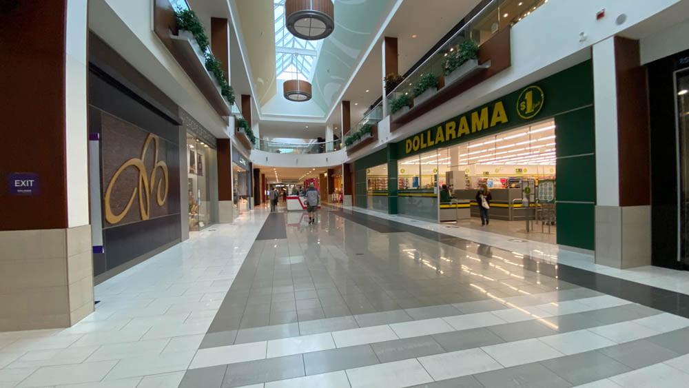Dollarama at SouthCentre Mall in Calgary