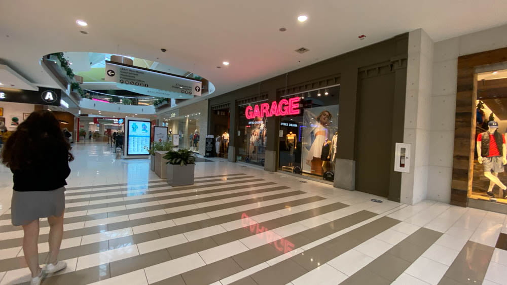 Garage at SouthCentre Mall in Calgary