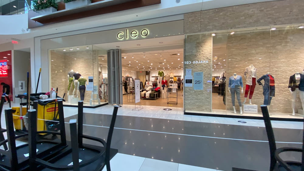 Cleo at SouthCentre Mall in Calgary