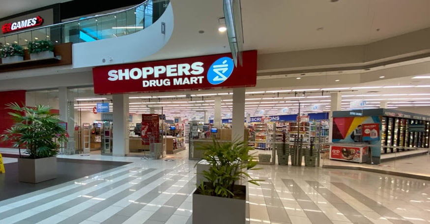 Shoppers Drug Mart on Lower Level at SouthCentre Mall in Calgary
