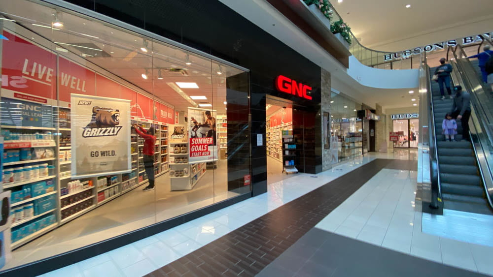 GNC at SouthCentre Mall in Calgary