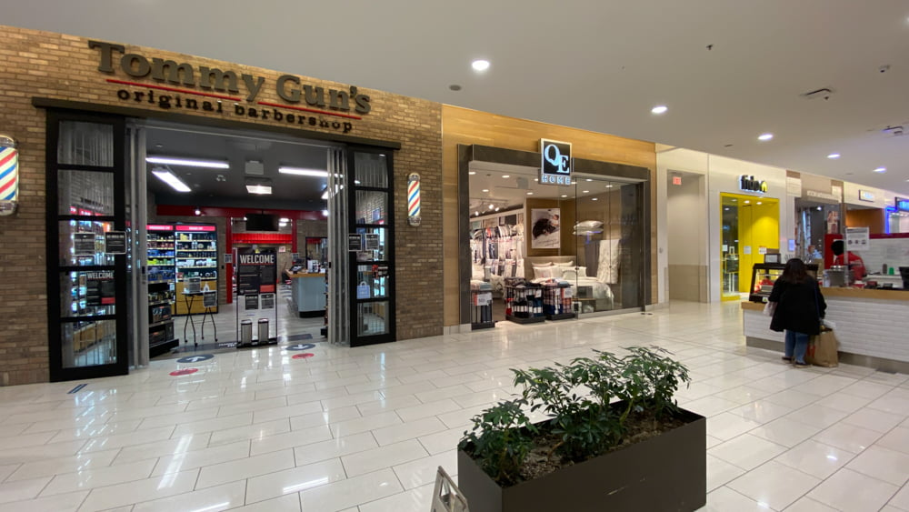Tommy Gun's and QE Home at SouthCentre Mall in Calgary