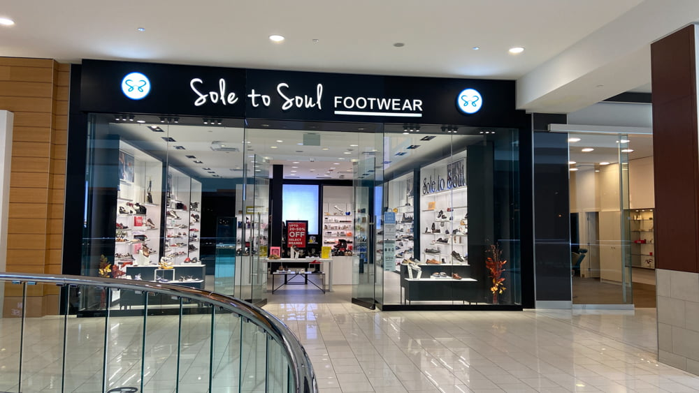 Sole to Soul at SouthCentre Mall in Calgary