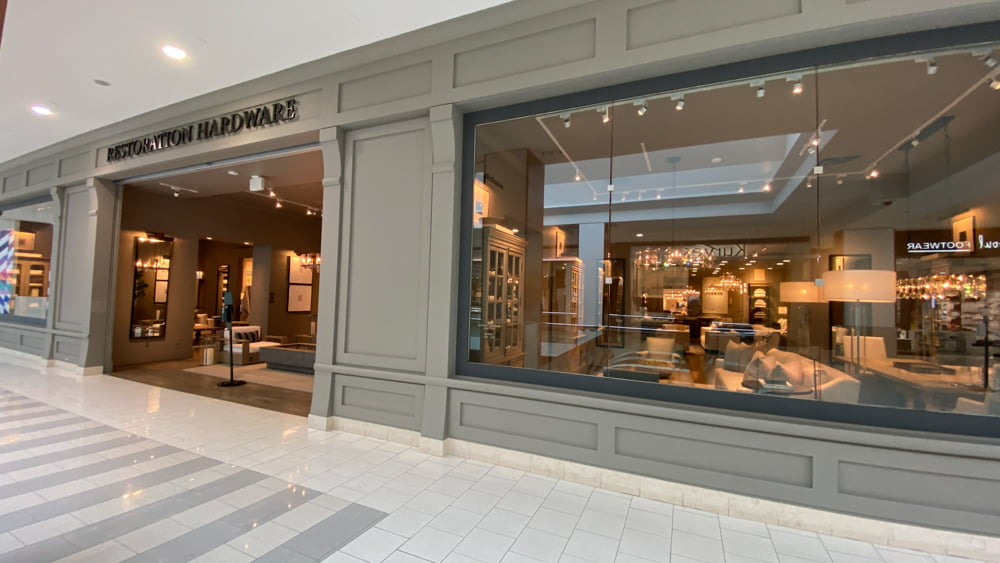 Restoration Hardware at SouthCentre Mall in Calgary