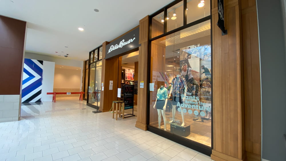Eddie Bauer at SouthCentre Mall in Calgary